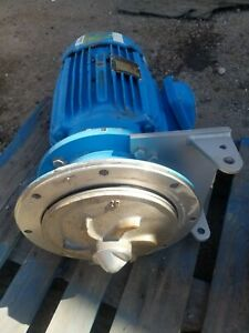 Baldor 10hp Motor With Impeller