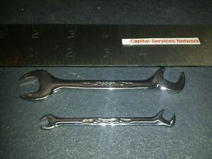 Snap On Dsm45 1110 2 Piece Metric 15 60 Offset Open End Ignition Wrench Set