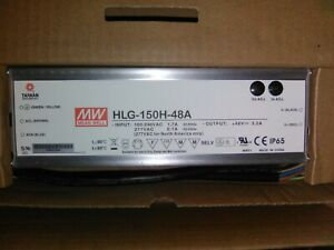 Meanwell Hlg 150h 48a Led Driver Power Supply Goes Great W Qb288 Quantum Board