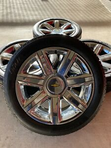 22 Inch 1500 Chevy Silverado Oem Wheels Rims Tires