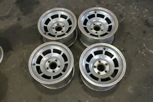 1978 Pace Car Corvette Western Machined Aluminum Alloy Slotted Wheels 1976 1982