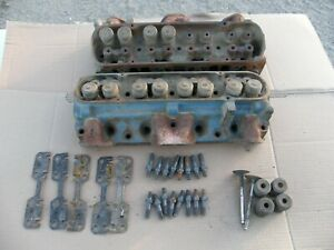 1971 Pontiac 400 455 Gto Firebird 96 Cylinder Heads Pair Big Flow Valve Heads