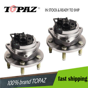 Pair Kit Front Wheel Hub Bearing Assembly For Chevrolet Malibu Hhr Cobalt W Abs