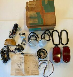 Nos 1955 1956 Chevy gmc Truck Turn Signal Accessory Kit Suburb Panel Taillight