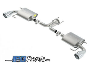Borla S Type Rear Section Exhaust 2 For 2014 2018 Mazda 3 Hatchback 2 0l 2 5l