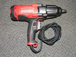 Craftsman Cmef900 1 2 Square Corded Impact Wrench Kit 7 5 Amp 2700 Ipm cz