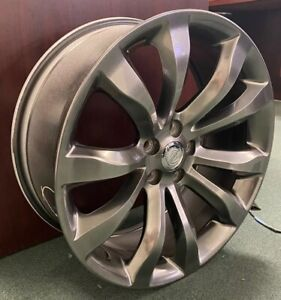 Wheel 20x8 Alloy 10 Spoke Hyper Fits 2005 2019 Chrysler 300 Hol 2540
