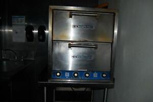 Bakers Pride Double Stacked Pizza Oven 220 240v Electric Commercial Restaurant