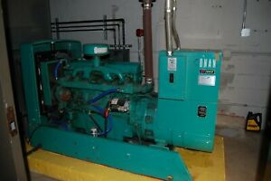 Onan 45 Kw Model Odef 15r Diesel Standby Generator And Transfer Switch