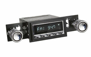 Retrosound 1967 1968 Ford Mustang Long Beach Radio Am Fm Bluetooth Iphone