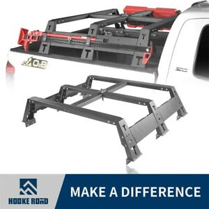 Hooke Road Storage Trunk High Bed Cargo Rack Basket For Toyota Tundra 14 20