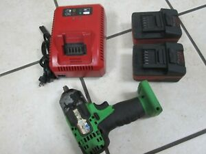 Snap On 3 8 Cordless Impact Ct8810ag 2 Batteries Charger
