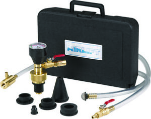 Uview Airlift Cooling System Vacuum Leak Tester Coolant Refill Tool Kit 550000