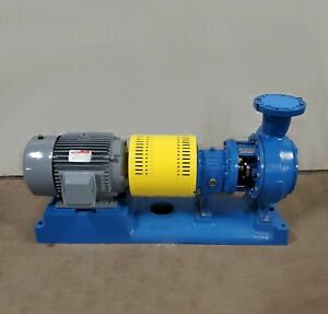 Goulds 3196 4x6 10 Centrifugal Pump 825 Gpm 58 Tdh 20hp 230 460 3 60