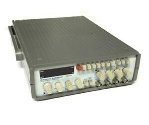 Beckman Industrial Fg3 a Sweep Function Generator 117 Volts 20 Va Max