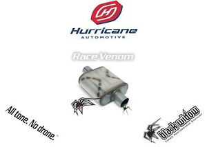 Black Widow Race Venom Performance Muffler 2 5 Center Center