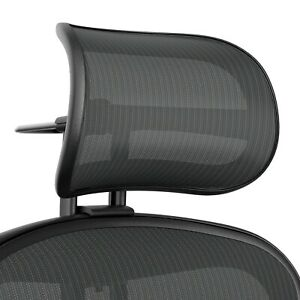 Remastered Graphite Headrest Herman Miller Recommended Headrest For Aeron Chair