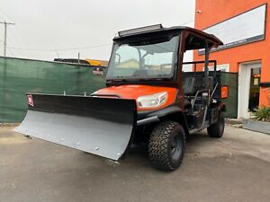 Enclosed Heated Polaris Ranger Xp900 Eps Brand New Tires Winch Plow Radio
