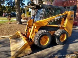Case 440 Skid Steer Loader Cab And Heat 1338 Hours 89hp Turbo Just Serviced