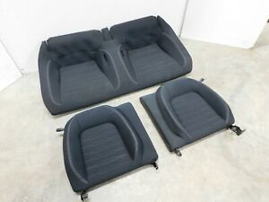 2015 2017 Ford Mustang Gt Rear Seat Upper And Lower Cloth Oem