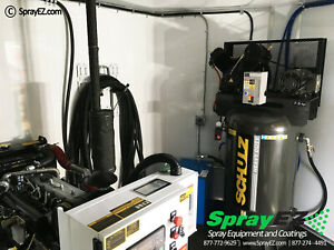 While Supplies Last Graco Gh 2 Spray Foam Rig Package With 8 5 X 20 Trailer