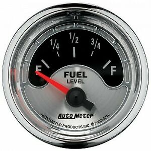 Auto Meter 2 1 16 Fuel Level 16 158 Air core American Muscle