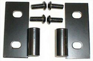 Rugged Ridge Lower Door Hinges Pair For Jeep Cj Wrangler Yj Tj 76 06 11202 03