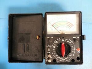 Vintage Triplett 564c Model 3 Type 3 Local Loop Tester With Cables