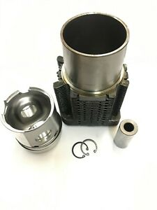 Cylinder Liner Piston With Ring For Deutz Fl912 F3l912 F4l912 F6l912 100mm