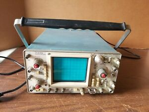 Tektronix 475 2 Channel 100 Mhz Analog Oscilloscope Powers Up