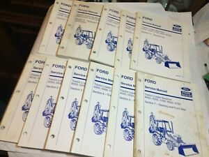 Ford New Holland 455d 555d 575d 655d 675d Tractor Loader Backhoe Service Manual