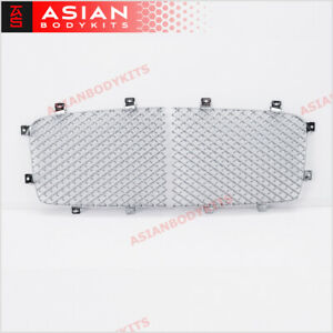 Chrome Front Grille Mesh For Bentley Continental Flying Spur Gt Gtc 2006 2012