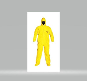 Dupont Tychem Qc Personal Protection Coverall Size Xl