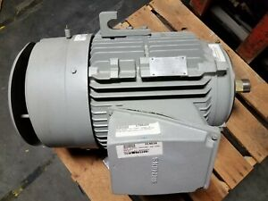 New Siemens 40 Hp 3 Phase Induction Motor Rgzveesd 460 Volt 1780 Rpm