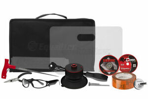 Equalizer Raptor Deluxe Kit Wire Auto Glass Removal Device Windshield Tool