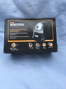 Bostitch Quietsharp Executive Electric Pencil Sharpener Black eps8hd blk