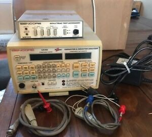 Used Sencore Lc103 Capacitor Inductive Analyzer With Scr250 Tester
