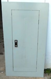 General Electric Panelboard Front Cover With Key Af375