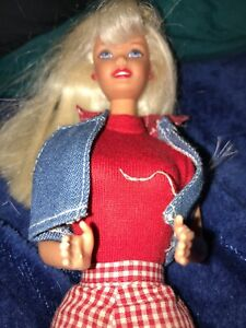Barbie Coca Cola  Doll Vintage With Outfit And Shoes