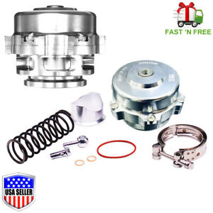 Tial Q Bv50 Stye Silver 50mm Blow Off Valve Bov 6psi 18psi Springs Fast Ship