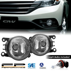 For 12 14 Honda Crv 33900 T0a A01 Quality Replacement Fog Lights Assembly Pair