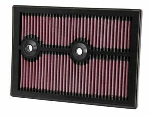 K N 33 3004 For Skoda Yeti Washable Reusable High Flow Drop In Panel Air Filter
