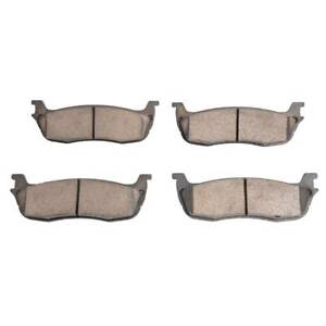 4 Pcs Front And Rear Ceramic Brake Pad Kit For 99 01 02 03 Ford F 150 Expedition