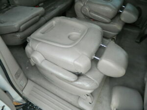 Toyota Sienna Rear Right Passenger Seat 2nd Row Right Leather