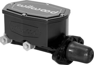 New Wilwood Black Compact Integral Tandem Master Cylinder dual Outlet 1 Bore