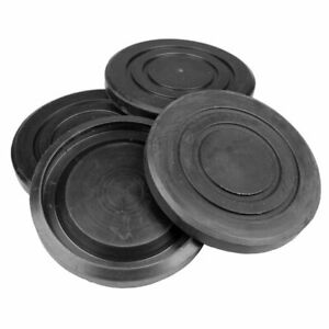 Round Rubber Arm Pad Kit set Of 4 For Challenger Lifts B2208