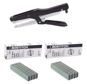 Bostitch P3 ind Stapler 2 Boxes Of Sp191 4 P3 Staples Brand New