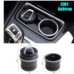 Stainless Steel Car Ashtray With Lid Cigarette Ashtray Desktop Smoking Ash Tray