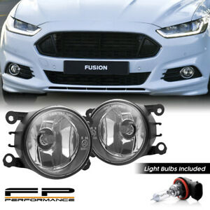 For 13 16 Ford Fusion 4f9z 15200 Aa Direct Replacement Fog Lights Assembly Pair
