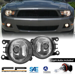 For 05 12 Ford Mustang 4f9z 15200 Aa Direct Replacement Fog Lights Assembly Pair